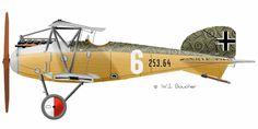 Albatros D-III (Oeffag) - 1917