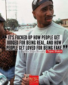 "Quotes for Motivation and Inspiration QUOTATION - Image : As the quote says - Description Tupac. ""It's fucked up how people get judged for being Tupac Quotes, Dope Quotes, Motivational Quotes, Inspirational Quotes, Rap Lyric Quotes, Song Quotes Tumblr, 2pac Lyrics, Quotes Quotes, Gangsta Quotes"