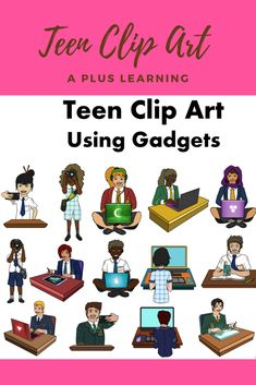 Make your resources come to life with our Teens and Technology Clip art.Excellent to have for high school resources especially those who create resources and a must have for classroom displays. Classroom Displays, Classroom Organization, Classroom Management, Teaching Posts, Teaching Style, Character Education, Career Education, School Resources, Classroom Resources