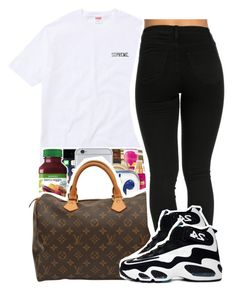 """Thru it all ~ WinterTime Zi ❄️"" by viinextdoor ❤ liked on Polyvore featuring Ryders and NIKE"