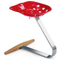 "Achille Castiglioni's ""Mezzadro Stool"" re-makes sold for $924 on the hivemodern website."