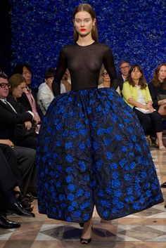 Raf Simons, first collection for Dior, Haute Couture, Fall 2012, Herbst Winter