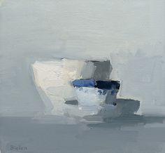artnet Galleries: White/Blue/White by Stanley Bielen from Somerville Manning Gallery