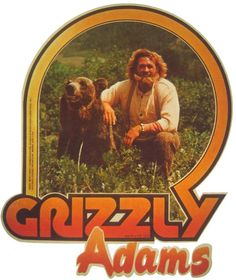 nostalgia Grizzly Adams Vintage Image T-shirt - Grizzly Adams, Images Vintage, Vintage Tv, Vintage Toys 1970s, Etsy Vintage, 1970s Childhood, Childhood Toys, My Childhood Memories, Mejores Series Tv