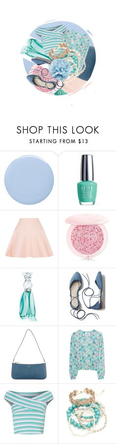 """Patterned & textured"" by confusioninme ❤ liked on Polyvore featuring Deborah Lippmann, OPI, Sandro, Guerlain, Anna Sui, Gap, Kate Spade, Gwynedds, Miss Selfridge and Red Camel"