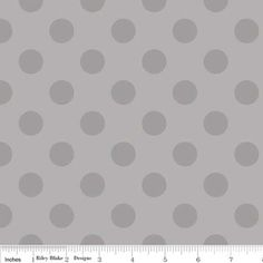 Medium Dot Tone on Tone Flannel in Gray (Riley Blake Designs - Flannel Basics)
