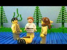 Lego Bible Story- The Good Samaritan Bible Stories For Kids, Bible Study For Kids, Bible Lessons For Kids, Sunday School Activities, Sunday School Crafts, Good Samaritan Craft, Lego Bible, Kids Church, Church Ideas