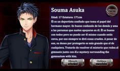 Personaje Souma Asuka - Romance en la Escuela Encantada