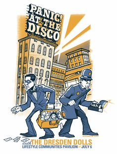 panic at the disco  bank robber and police copper