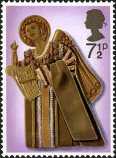 Royal Mail Special Stamps |Angel and Harp