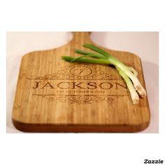 Large Personalized Handled Cutting Board -Jackson