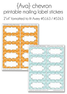 Excellent Labels That Can Be Printed On Plain Old Avery Address - Plain address labels template