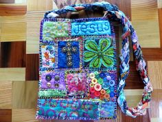 For Aunt Jody - Teesha Moore Patch Bag #3 - PURSES, BAGS, WALLETS