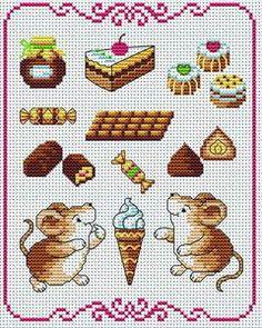 free cross-stitch patterns..