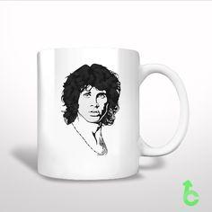 #Jim #Morrison #Drawing #Art #White #Mug #whitemug #tea #coffee #Cup #Ceramics #Pottery #Custom #trending #Housewares #Kitchen #design #giftidea #present #woman #man #kids #favorite #lowprice #newhot