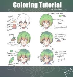 Hair Drawing Tutorial Step By Step Digital Paintings 47 Trendy Ideas Digital Painting Tutorials, Digital Art Tutorial, Art Tutorials, Digital Paintings, Drawing Base, Manga Drawing, Art Reference Poses, Drawing Reference, Coloring Tutorial