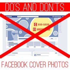 Facebook Cover Photo Do's and Dont's for Businesses