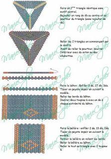 """creazioninpeyote: Schema triangolo peyote di """"Peetje"""". Se cercate su Internet ce ne sono svariati tipi, questo e' uno di quelli che mi piacciono di…"""