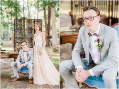 Woodland wedding Red Roof, Woodland Wedding, Vintage Furniture, Couples, Celebrities, Wedding Dresses, Photography, Style, Bride Dresses