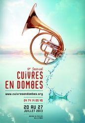 17ème Festival Cuivres en Dombes, Rhône-Alpes
