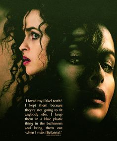 I love Helena Bonham Carter!