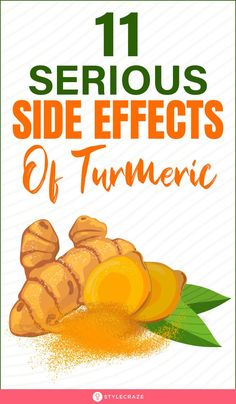 11 Side Effects Of Turmeric: There are other possible ways turmeric may cause adverse effects. In this post, we will explore them, along with ways of prevention. #turmeric #sideeffects #health #healthcare