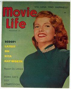 Movie Life Magazine Vol. 16 No. 1, 1952 Rita Hayworth, Doris Day