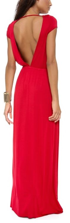 beautiful open back knit maxi dress http://rstyle.me/n/nkzkhr9te