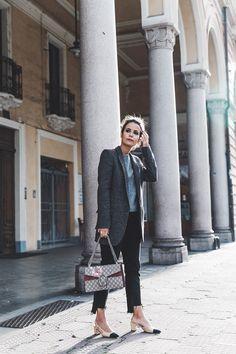 Chanel Slingbacks / Gucci Dionysus Bag / Levis Black Jeans