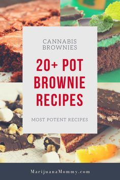 20+ Killer Pot Brownie Recipes To Lift Your Spirits Medical marijuana patients often make edibles at home.  If you need a new marijuana recipe, try one of these 20+ cannabis brownie recipes. https://www.marijuanamommy.com/pot-brownie-recipes-cannabis-brownies/