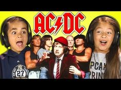 Kids react to AC/DC, and prove rock n' roll will never die. 5 Kids, Cool Kids, Art For Kids, Ac Dc, Nirvana Youtube, Film Genres, Love Film, Action Film, Executive Producer