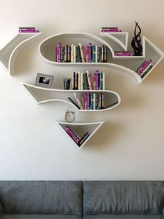 Alright, we'll say it: this looks like a super way to store your books.