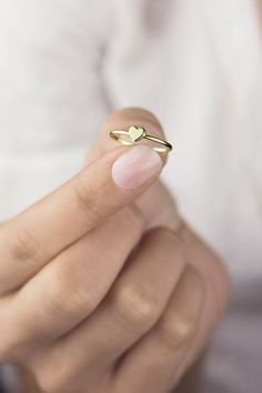 VS Aquamarine engagement ring set Curved U diamond wedding band yellow gold half eternity band aquamarine bridal rings - Fine Jewelry Ideas Gold Heart Ring, 14k Gold Ring, Heart Rings, Diamond Jewelry, Silver Jewelry, Silver Rings, Diamond Earrings, Jewelry Rings, Craft Jewelry