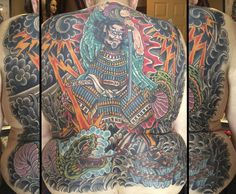Japanese style black and grey dragon back piece tattoo done by Scott A .Cooksey from Lone Star Tattoo in Dallas, Texas. Contact scooksey71@yahoo.com for info or an appointment with Scott. Thanks for looking! www.lonestartattoo.com