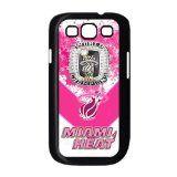 Treasure Design Pink NBA Miami Heat Logo Samsung Galaxy S3 9300 3d Best Durable Case For Girls thumbnail