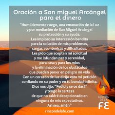 Descubre la oración a San Miguel Arcángel para para el dinero y soluciona tus…