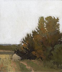Stopping Place, OR, 7 x 6 inches, oil on panel