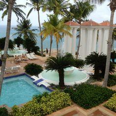 Main pool at El Conquistador Resort, Fajardo, Puerto Rico
