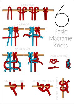 Basic Macram 233 Knots Step By Step Guide Jewelry Cord