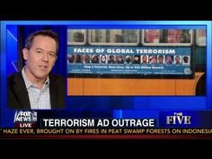 Greg Gutfeld Talks Terrorism Ad Outrage on 'The Five' - Fox News - RightSightings Greg Gutfeld, News 6, Need To Know, Fox, Bring It On, Funny, Youtube, Funny Parenting, Foxes