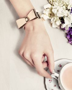 Golden Bow Bracelet, I really like the mature Alice in Wonderland vibe from it :))