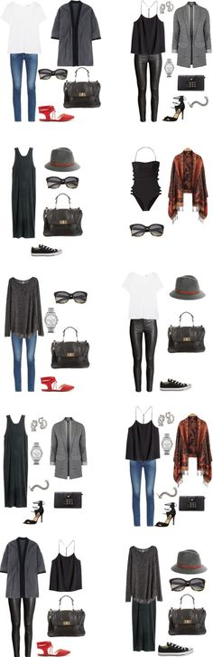 "The above are 10 outfit options that you can achieve with the packing list for Las Vegas, Nevada Weekend Getaway. You are probably looking at this think, ""most of these are too warm to wear in Las Vegas. Vegas Packing, Las Vegas Trip, Packing Ideas, Travel Packing, Travel Attire, Vegas 2017, Travel Plane, Mode Outfits, Winter Outfits"