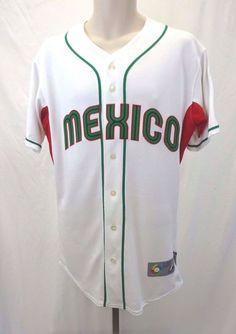 Mexico Baseball Jersey 2009 World Baseball Classic Majestic 40 World Baseball Classic Baseball Jerseys Jersey