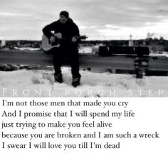 Front Porch Step // A Lovely Mess *just my edit* Just Me, Love You, Front Porch Steps, Hit Home, Make You Cry, I Promise, Feelings, Sayings, Life