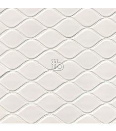 White Tear Drop Glossy porcelain mosaic wall tiles feature a contemporary pattern and pair well with ceramic wall tile like subway tile and arabesque tile. Ceramic Subway Tile, Ceramic Mosaic Tile, Mosaic Wall Tiles, Porcelain Tile, Mosaics, Marble Mosaic, Basket Weave Tile, Arabesque Tile, Tile Installation
