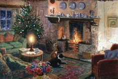 Safe from the Storm Art by Stephen Darbishire