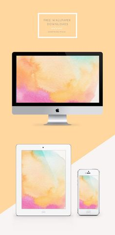 Free wallpaper // 002 | Something Peach - http://centophobe.com/free-wallpaper-002-something-peach/ -