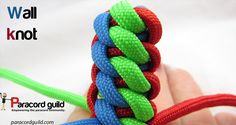 How to tie a wall knot.