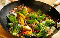 Wok di carne e verdure