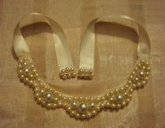 Four Classic Pearl Necklace Tutorials